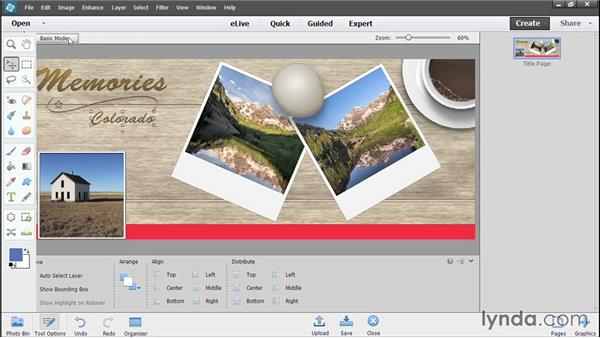 Making a Facebook cover photo: Photoshop Elements 13 Essential Training