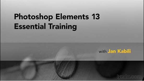 Goodbye: Photoshop Elements 13 Essential Training