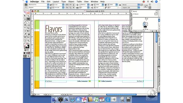 Section starts, prefixes and page numbering: InDesign CS2 Beyond the Basics
