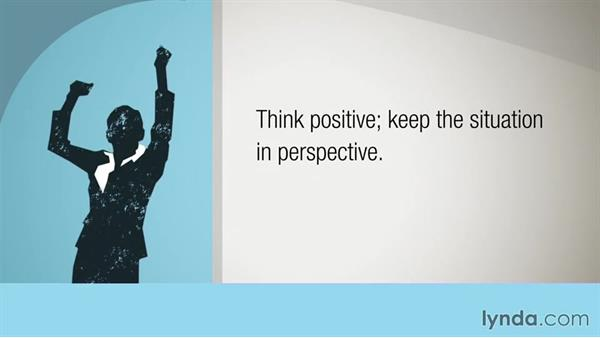 Practice positive thinking: Building Resilience