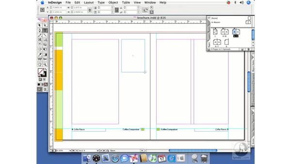 Creating a master page from a spread: InDesign CS2 Beyond the Basics