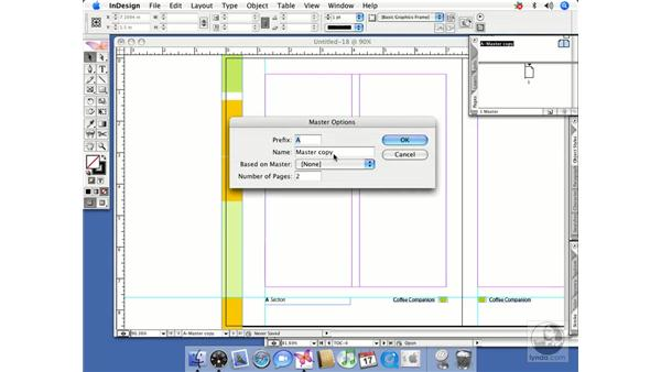Sharing pages and masters between documents: InDesign CS2 Beyond the Basics