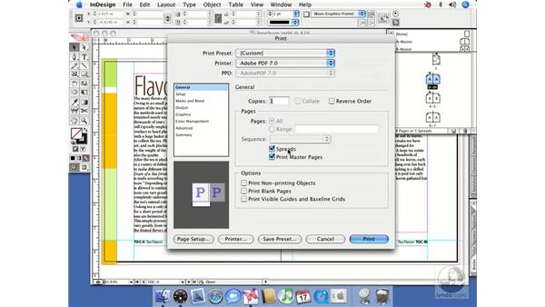 Printing master pages as comps: InDesign CS2 Beyond the Basics