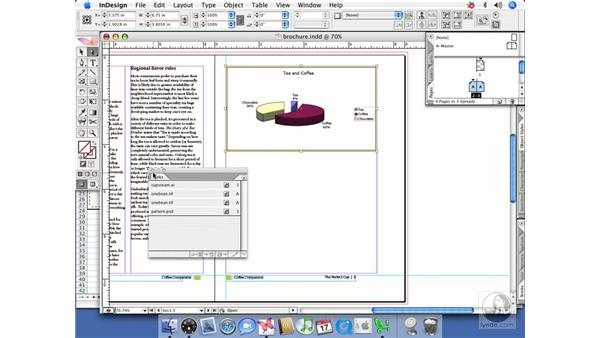 Placing charts and graphs: InDesign CS2 Beyond the Basics