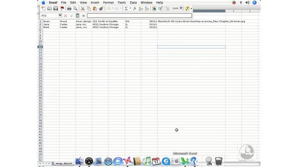 Data Merge intro: InDesign CS2 Beyond the Basics
