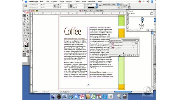 Book workflows: InDesign CS2 Beyond the Basics