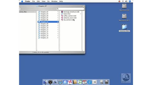 Setting up a book: InDesign CS2 Beyond the Basics