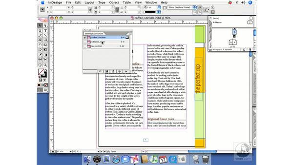 Page numbering across book documents: InDesign CS2 Beyond the Basics