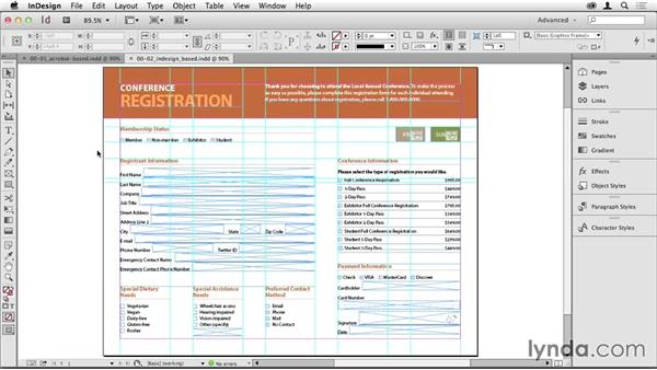 InDesign vs. Acrobat: Which to use, and why?: Creating PDF Forms with InDesign