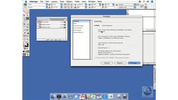 Preflighting a book: InDesign CS2 Beyond the Basics