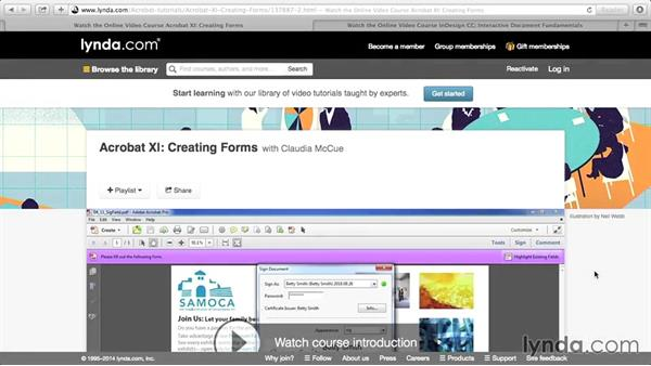 Next steps: Creating PDF Forms with InDesign