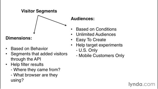 Tracking visitor segments: Optimizely Fundamentals