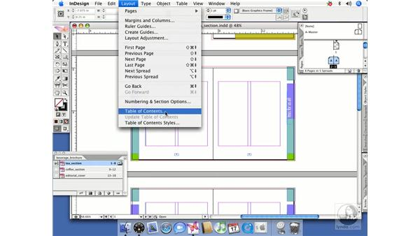 Creating a TOC for a book: InDesign CS2 Beyond the Basics