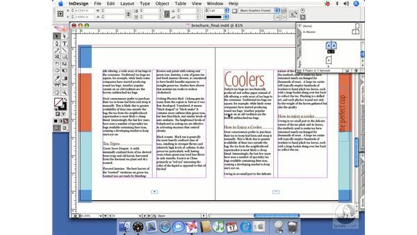 Planning an index: InDesign CS2 Beyond the Basics
