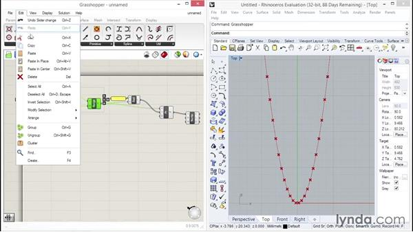 Looking at mathematical functions: Up and Running with Grasshopper