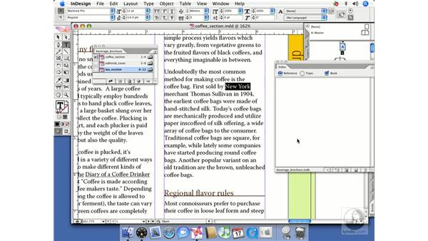 Indexing and books: InDesign CS2 Beyond the Basics