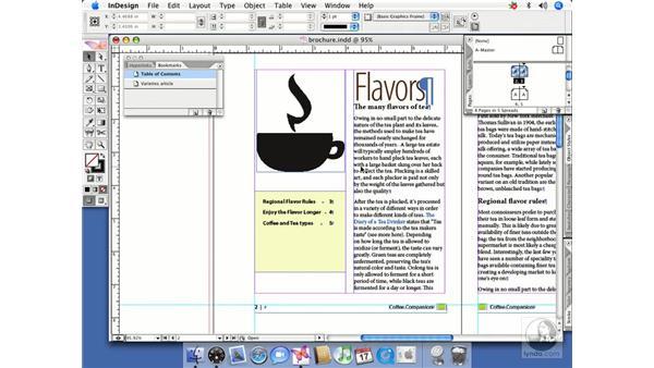 Bookmarks: InDesign CS2 Beyond the Basics