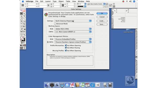 Profile mismatches: InDesign CS2 Beyond the Basics