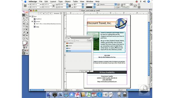 Structuring InDesign content: InDesign CS2 Beyond the Basics
