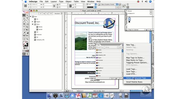 Importing XML: InDesign CS2 Beyond the Basics