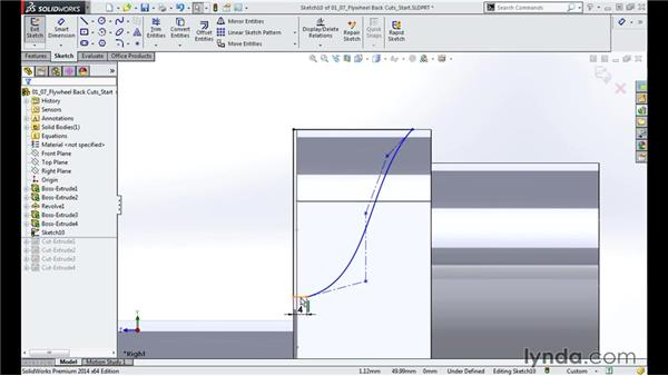 Shaping the arc: Modeling a Motorcycle Engine with SOLIDWORKS