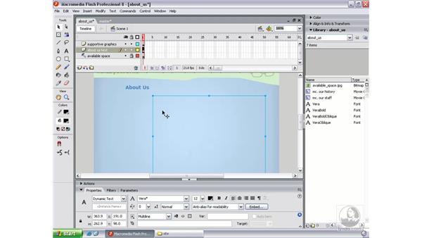 Writing the LoadVars object pt. 2: Flash Professional 8 Beyond the Basics