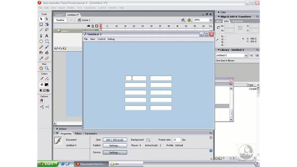 Defining tab order (optional): Flash Professional 8 Beyond the Basics