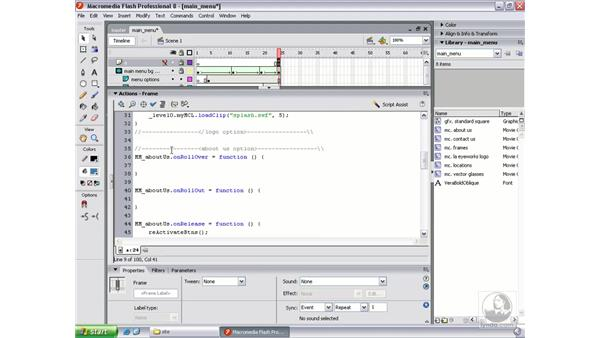 Scripting onRollOver, onRollOut, and onRelease: Flash Professional 8 Beyond the Basics