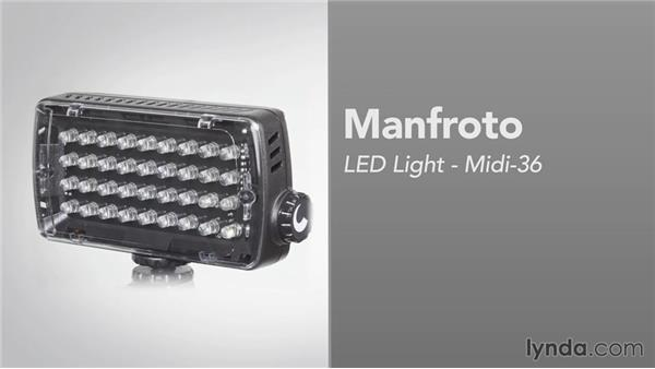 Battery operated lights: Video Gear Weekly