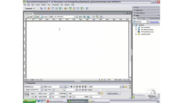 Adding Flash content to an HTML page: Flash Professional 8 Beyond the Basics