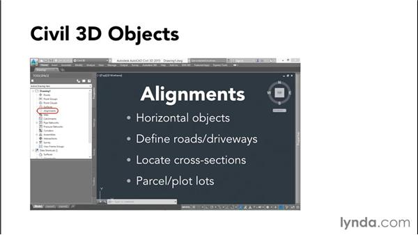 Civil 3D objects: Up and Running with Civil 3D