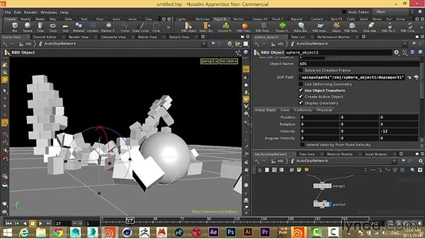 Part 2: Building a simulation in Houdini: Artists and Their Work: Conversations about Mograph, VFX, and Digital Art