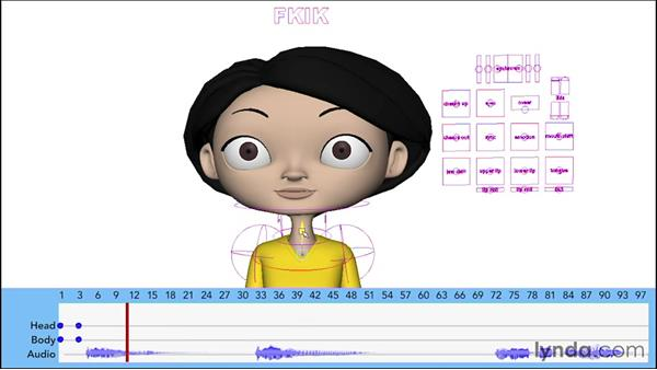 Blocking out the initial poses: Character Animation: Dialogue