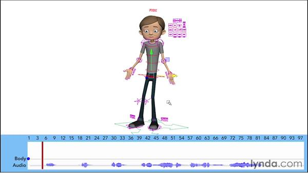 Blocking the body poses: Character Animation: Dialogue