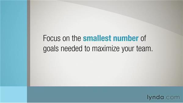 Defining focused goals: Managing for Results