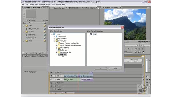 Integration with Adobe After Effects: Premiere Pro 2 New Features
