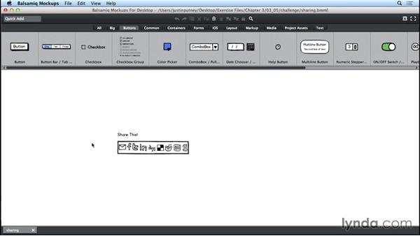Challenge: Customize a downloaded symbol: UX Design Tools: Balsamiq Mockups