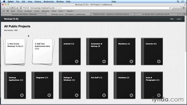 Next steps: UX Design Tools: Balsamiq Mockups