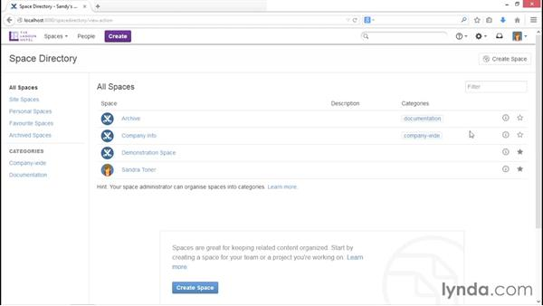 Utilizing favorites: Installing and Administering Atlassian Confluence