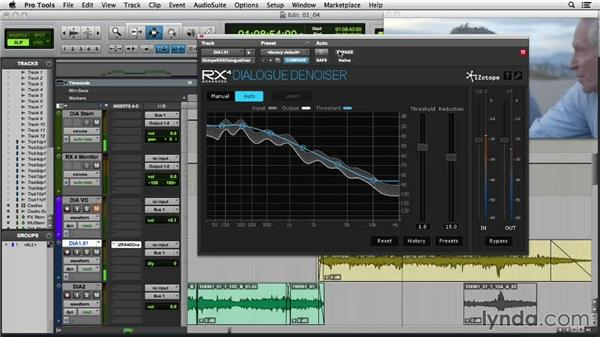 Preserving noisy dialogue with the new real-time Dialogue Denoiser: iZotope RX 4 First Look