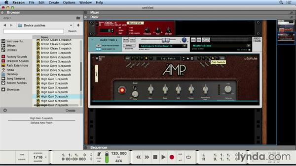 Crafting guitar tone with the Softube Amp: Reason 8 First Look