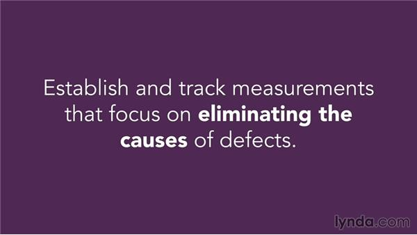 Applying Lean Six Sigma: Managing Project Quality