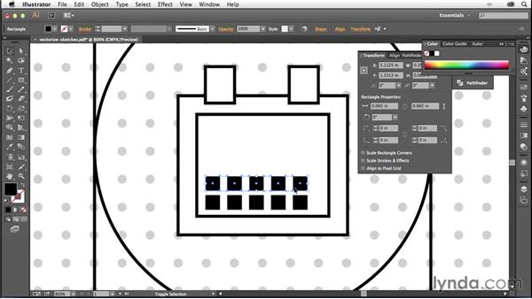 Converting your sketches into vector art: Creating Icons with Illustrator