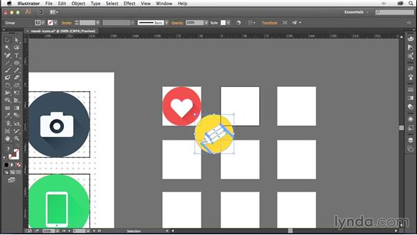 Saving your icons for web use: Creating Icons with Illustrator
