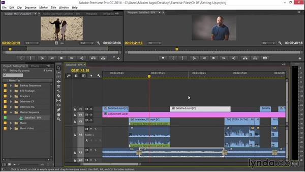 Establishing the starting point: EPK Editing Workflows 04: Audio Cleanup and Special Effects