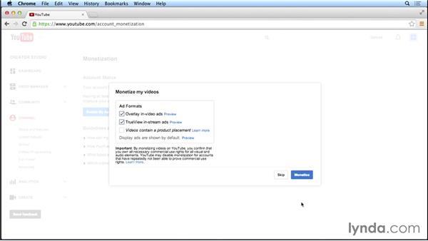 Applying to the YouTube Partner Program: Marketing and Monetizing on YouTube