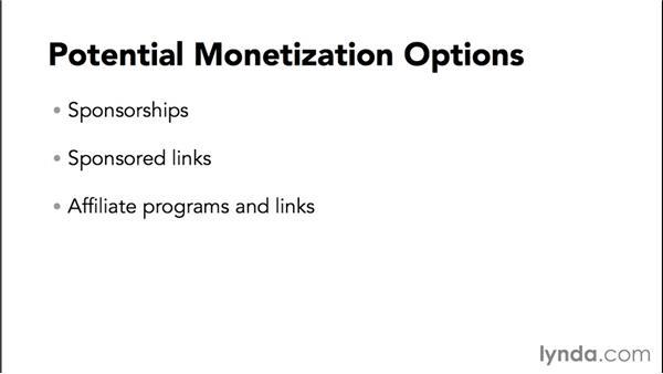 Additional YouTube monetization options: Marketing and Monetizing on YouTube