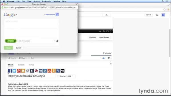 Using social sharing: Marketing and Monetizing on YouTube