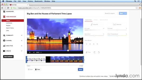 Enhancing videos already uploaded to YouTube: Marketing and Monetizing on YouTube