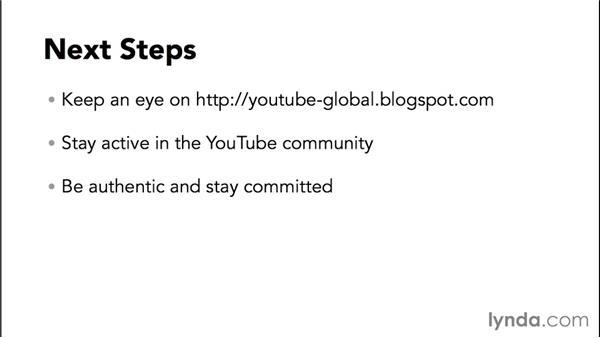Next steps: Marketing and Monetizing on YouTube
